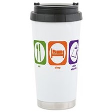 Cute Insurance humor Travel Mug