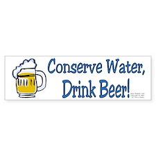 Conserve! Bumper Bumper Sticker