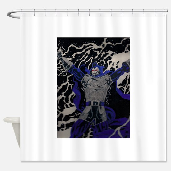 day of reckoning Shower Curtain
