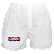 """Condi Rice for President"" Boxer Shorts"