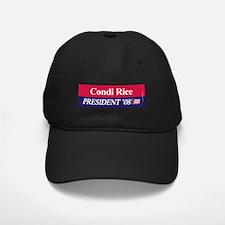 """""""Condi Rice for President"""" Baseball Hat"""