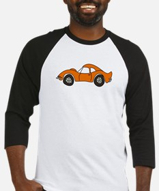 Orange Opel GT Cartoon Baseball Jersey
