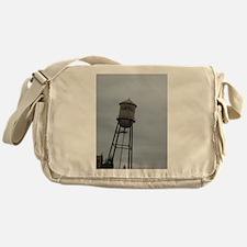 Campbell water tower Messenger Bag