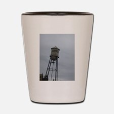 Campbell water tower Shot Glass