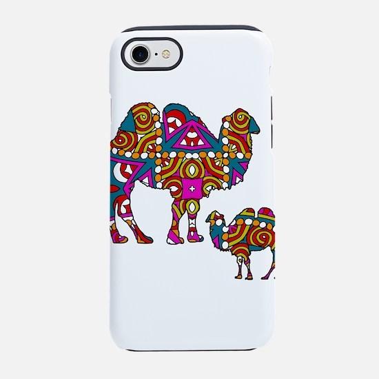 Colorful Camels iPhone 8/7 Tough Case