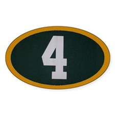 4 Oval Decal