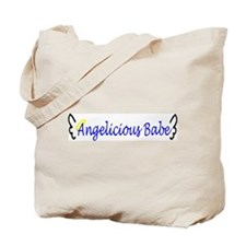 Angelicious Babe Tote Bag