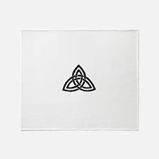 celtic knot 1 Throw Blanket
