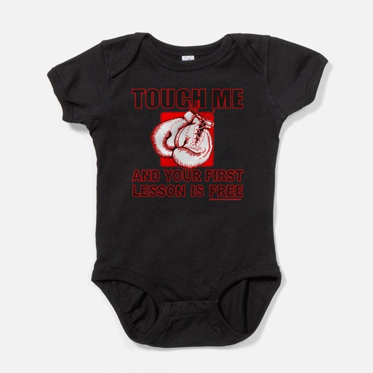 Cute Boxing Baby Bodysuit