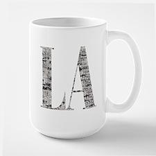 LA - Los Angeles Large Mug