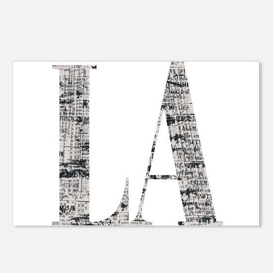 LA - Los Angeles Postcards (Package of 8)