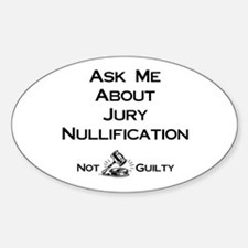 Jury Nullification Decal