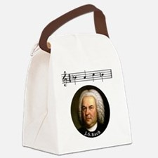 Cool Bach Canvas Lunch Bag
