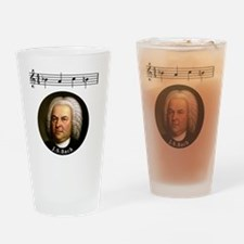 Funny Bach Drinking Glass