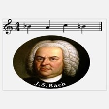 Unique Js bach Wall Art
