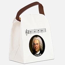 Cute Bach Canvas Lunch Bag