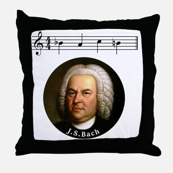 Unique Bach Throw Pillow