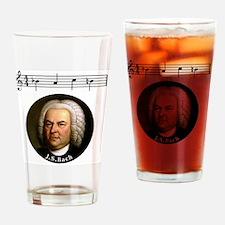 Cute Bach Drinking Glass