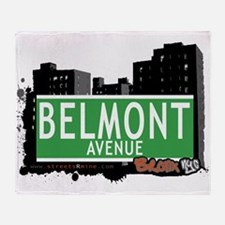 Belmont Ave Throw Blanket