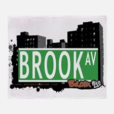 Brook Ave Throw Blanket