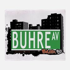 Buhre Ave Throw Blanket
