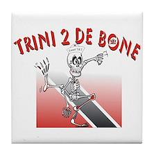 Trini 2 De Bone Tile Coaster