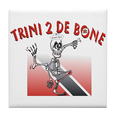 Trini 2 De Bone Tile Coaster