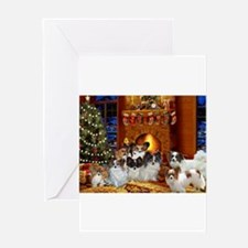 Funny Papillons Greeting Card