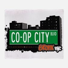 Co-Op City Blvd Throw Blanket
