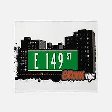 E 149 St Throw Blanket
