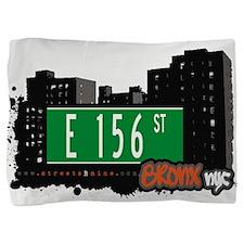 E 156 St Pillow Sham