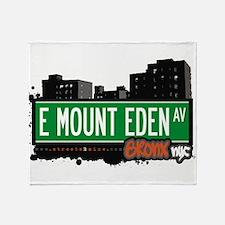 E Mount Eden Ave Throw Blanket
