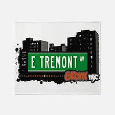 E Tremont Ave Throw Blanket