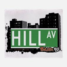 Hill Ave Throw Blanket
