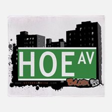 Hoe Ave Throw Blanket