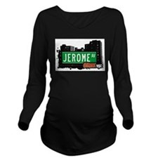 Jerome Ave Long Sleeve Maternity T-Shirt