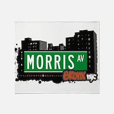 Morris Ave Throw Blanket