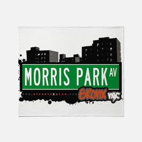 Morris Park Ave Throw Blanket