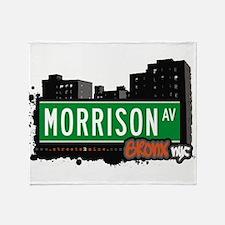 Morrison Ave Throw Blanket