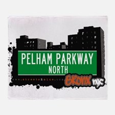 Pelham Parkway North Throw Blanket