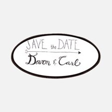 Cute Save the date Patch
