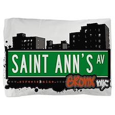 Saint Anns Ave Pillow Sham