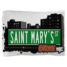 Saint Marys St Pillow Sham
