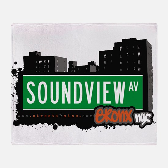 Soundview Ave Throw Blanket
