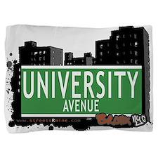 University Ave Pillow Sham