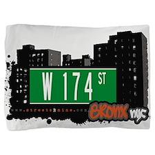 W 174 ST Pillow Sham