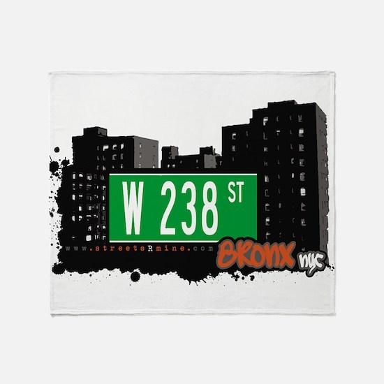 W 238 ST Throw Blanket