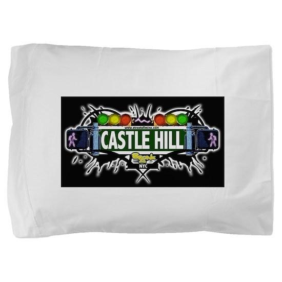 castlehill Bronx NYC (Black) Pillow Sham