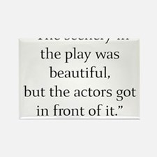 Cute Theatre directors Rectangle Magnet