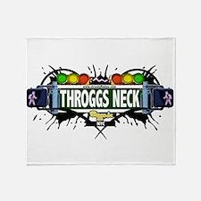 Throggs Neck Bronx NYC (White) Throw Blanket
